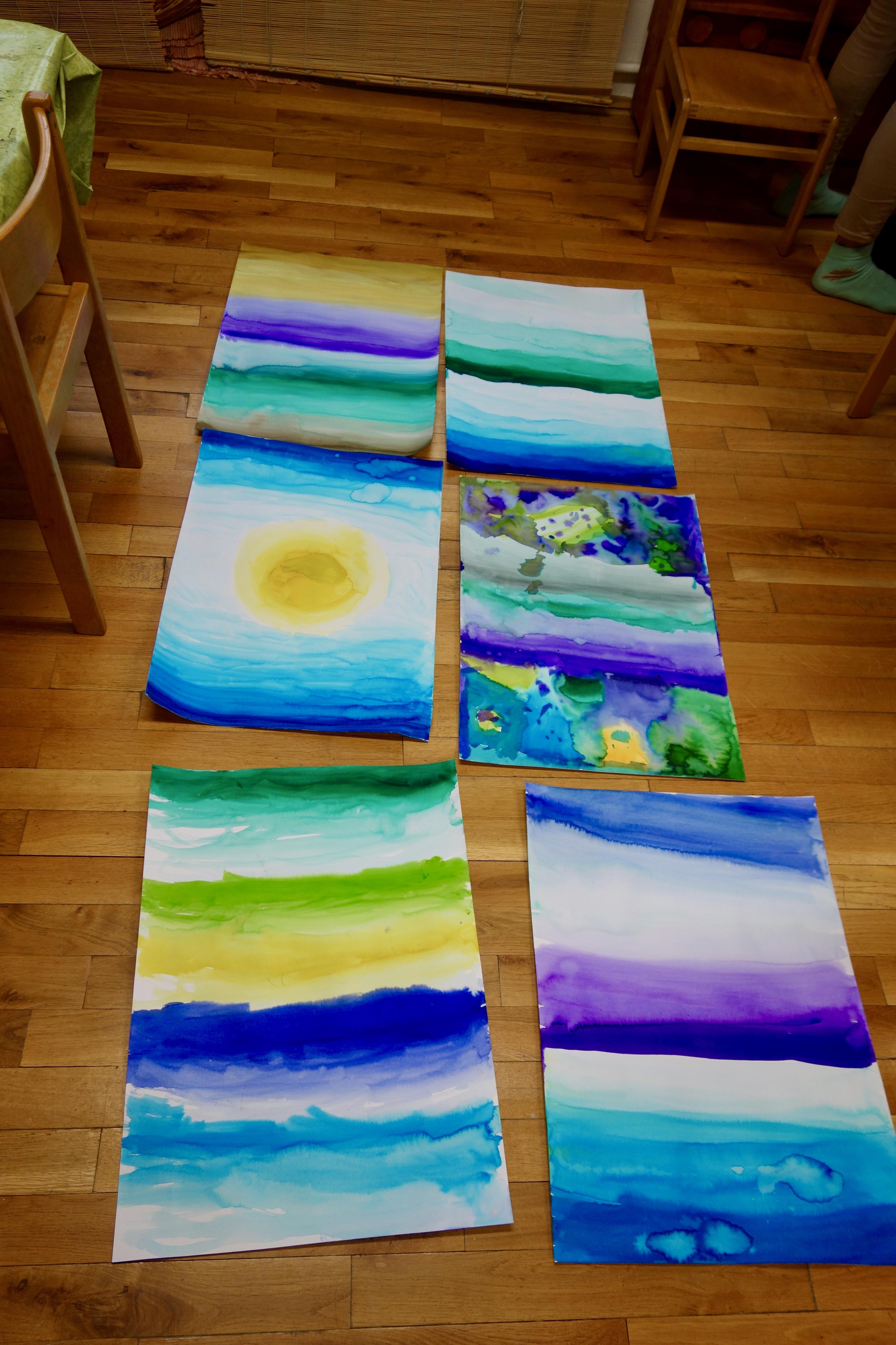 Přechody barev